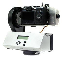 GigaPan robotic camera mount