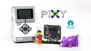 Pixy for LEGO Mindstorms