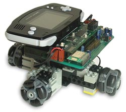 XRC robot with Bluetooth module