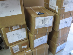First Pixy shipment, 2000 units! more on their way!