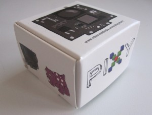 Your Pixy will arrive all snug in this little box